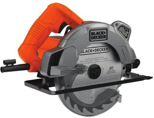 BLACK+DECKER 7-1 4-Inch Circular Saw with Laser, 13-Amp (BDECS300C)