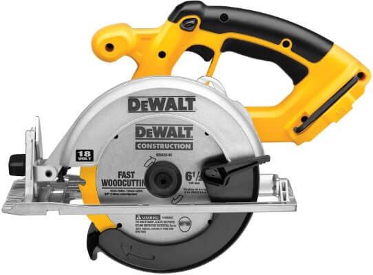 DEWALT DC390B 6-1 2-Inch 18-Volt Cordless Circular Saw (Tool Only)