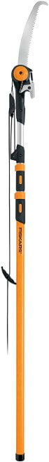 Fiskars Chain Drive 7–16 Foot Extendable Pole Saw & Pruner (394631-1001),White
