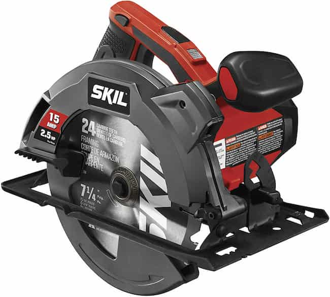 SKIL 5280-01 15-Amp 7-1 4-Inch Circular Saw with Single Beam Laser Guide